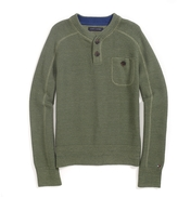 Tommy Hilfiger Solid Henley Sweater