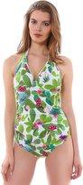 Freya Cactus 3882 U/W Halterneck Lightly Padded Swimming Costume Swimsuit
