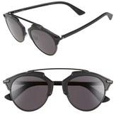 Christian Dior Women's 'So Real' 48Mm Sunglasses - Bronze/ Havana