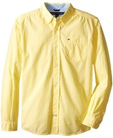 Tommy Hilfiger Classic L/S Woven Shirt Boy's Long Sleeve Button Up