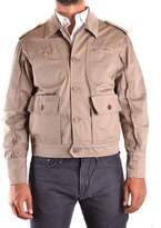Daniele Alessandrini Women's Beige Cotton Outerwear Jacket.