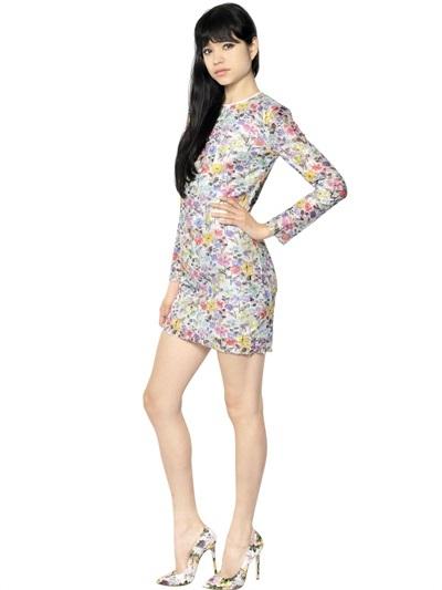 MSGM Techno Lace Dress
