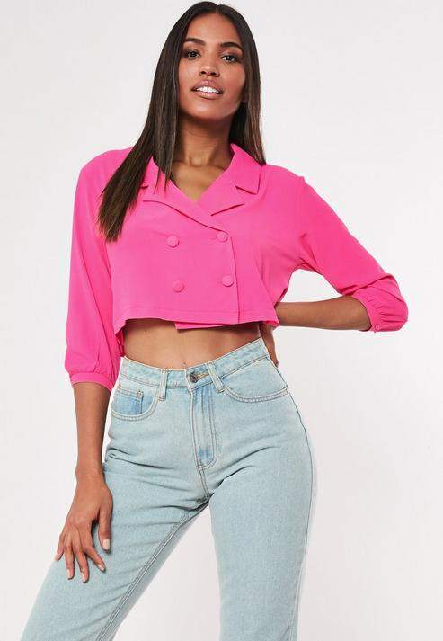 ec9ca6e2f2727f Double Breasted Blouse - ShopStyle