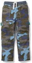 Toddler Boy's Mini Boden Zip Off Technos Convertible Cargo Pants