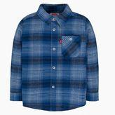 Levi's Toddler Boys (2T-4T) Long Sleeve Woven One-Pocket Shirt