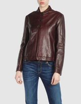 JIL SANDER Leather outerwear