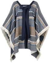 See by Chloe Oversized Poncho Jacket