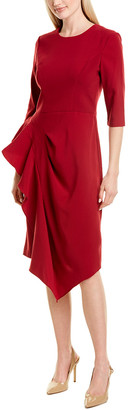 Kay Unger Mason Midi Dress