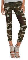 Camo Mesh Inset Print Legging