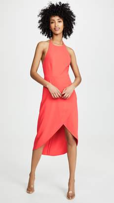 Alice + Olivia Kristy High Low Halter Dress