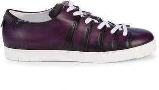 Corthay 90 Leather Low-Top Sneakers