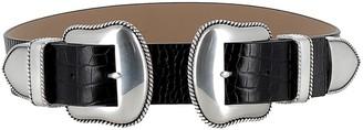 B-Low the Belt Black/silver Belt