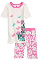 Tea Collection Toddler Girl's Winged Thing Fitted Two-Piece Pajamas