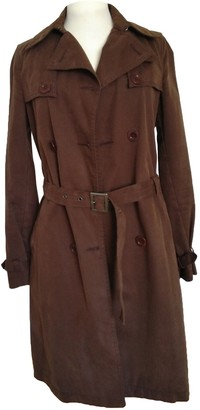 See by Chloe Brown Cotton Coat for Women