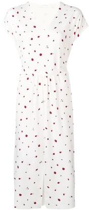 Parker Chinti & strawberry print long dress