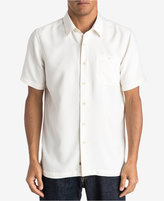 Quiksilver Waterman Men's Blue Marlin Button-Front Shirt