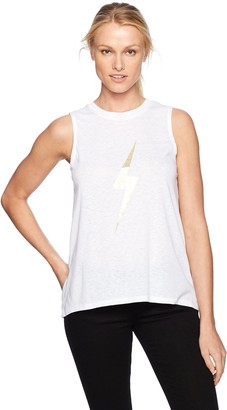 David Lerner Women's High Low Muscle Tank