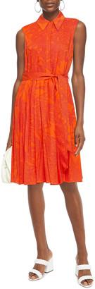 Diane von Furstenberg Harmony Belted Printed Voile Dress