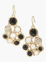 Talbots Cluster Cabochon Earrings
