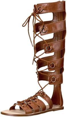 Nine West Women's Tirion Leather Gladiator Sandal