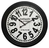 Infinity Instruments Antiquite de Paris Clock