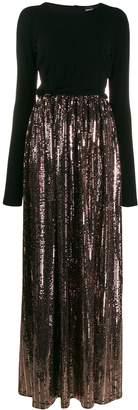 Just Cavalli sequin skirt gown