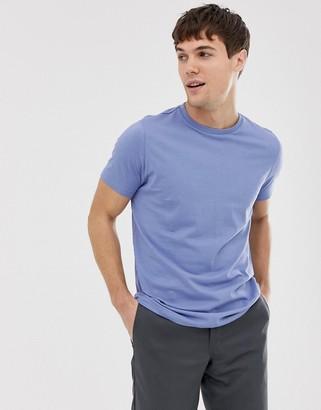 Brave Soul organic cotton t-shirt in blue-Navy