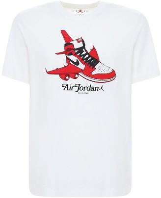 Nike Jordan Graphic Cotton T-Shirt