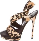 Casadei Multistrap Platform Sandals