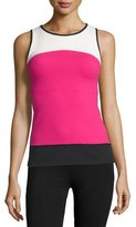 Beyond Yoga Active Banded Tank Top, Carnation/Cream