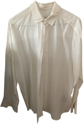 Sessun Ecru Cotton Top for Women