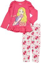 Children's Apparel Network Pink Rapunzel Tee & Pants - Toddler & Girls