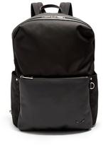 Fendi Leather-pocket Nylon Backpack