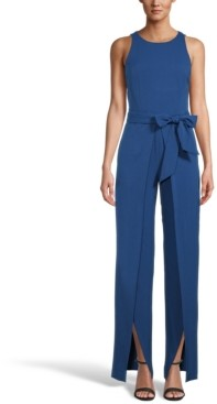 INC International Concepts Inc Wide Open-Leg Jumpsuit, Created for Macy's