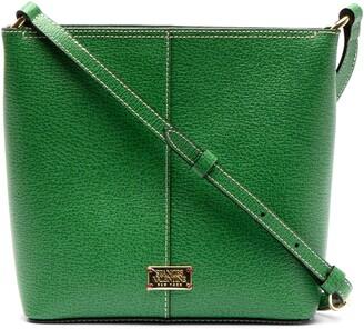 Frances Valentine Small Fin Leather Crossbody Bag