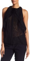 Jason Wu Collage Lace Racerback Blouse