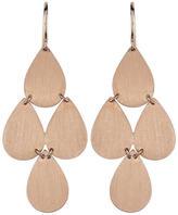 Irene Neuwirth Signature Small Teardrop Chandelier Earrings - Rose Gold