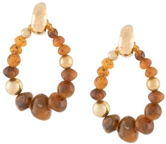 Gas Bijoux Biba beaded earrings