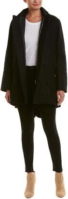 Diesel Kappany Wool-Blend Trench Coat