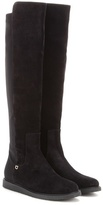 Salvatore Ferragamo Fester suede over-the-knee boots