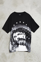 Forever 21 FOREVER 21+ Jesus Star Graphic Tee