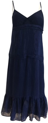 Bruuns Bazaar Blue Silk Dress for Women