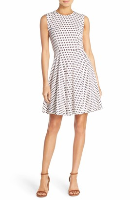 French Connection Women's Bacongo Dot Dress