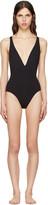 Proenza Schouler Black Cross-back Swimsuit