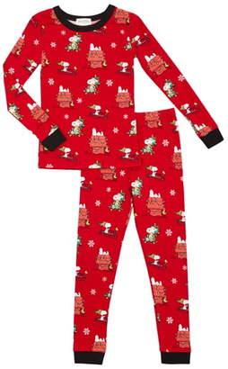 Bedhead Pajamas Peanuts Snoopy Holiday Pajamas