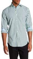 Thomas Dean Plaid Regular Fit Woven Shirt
