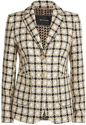 Kiton Diamond Tweed Blazer