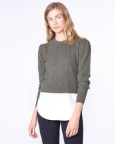 Veronica Beard Jensen Combo Sweater