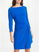 Lauren Ralph Lauren Aletha Stretch Jersey Dress, Gallery Blue