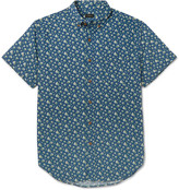 J.crew - Slim-fit Floral-print Cotton Shirt